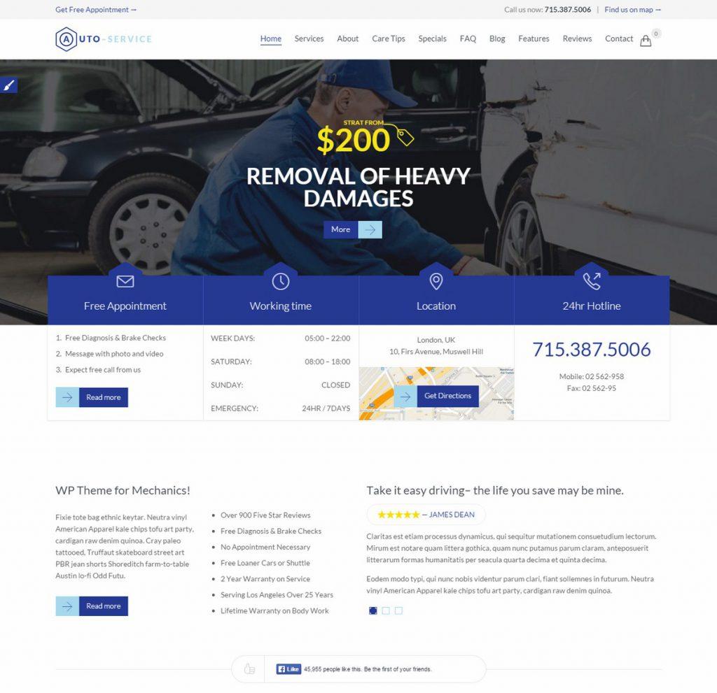 Theme-Auto car repair