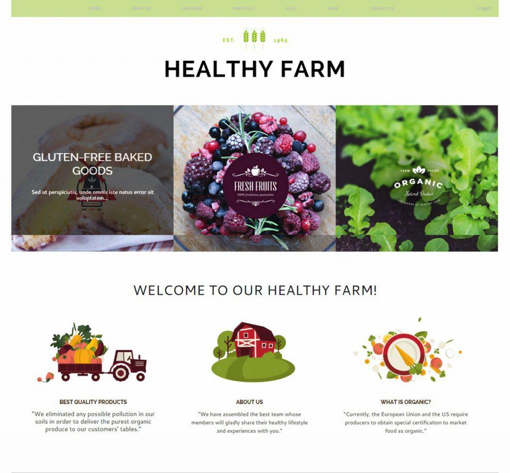 Themere-Healthy Farm