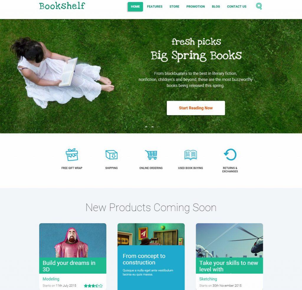 Themerex-Bookshelf
