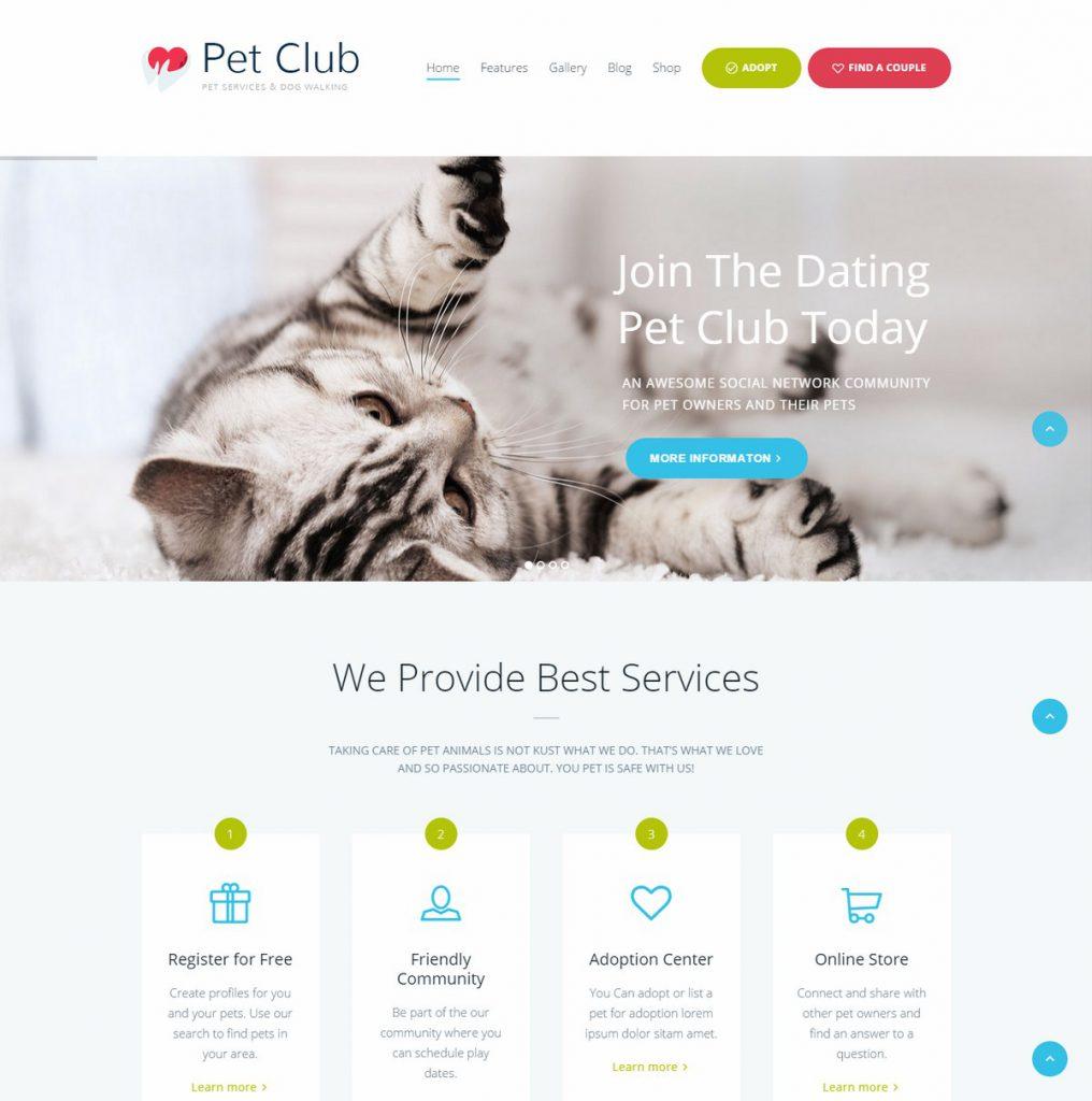 Themerex-Pet Club