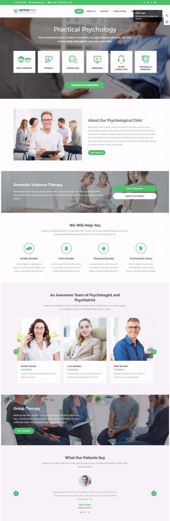 mau-website-dich-vu-tam-ly-hoc-the7-phychology