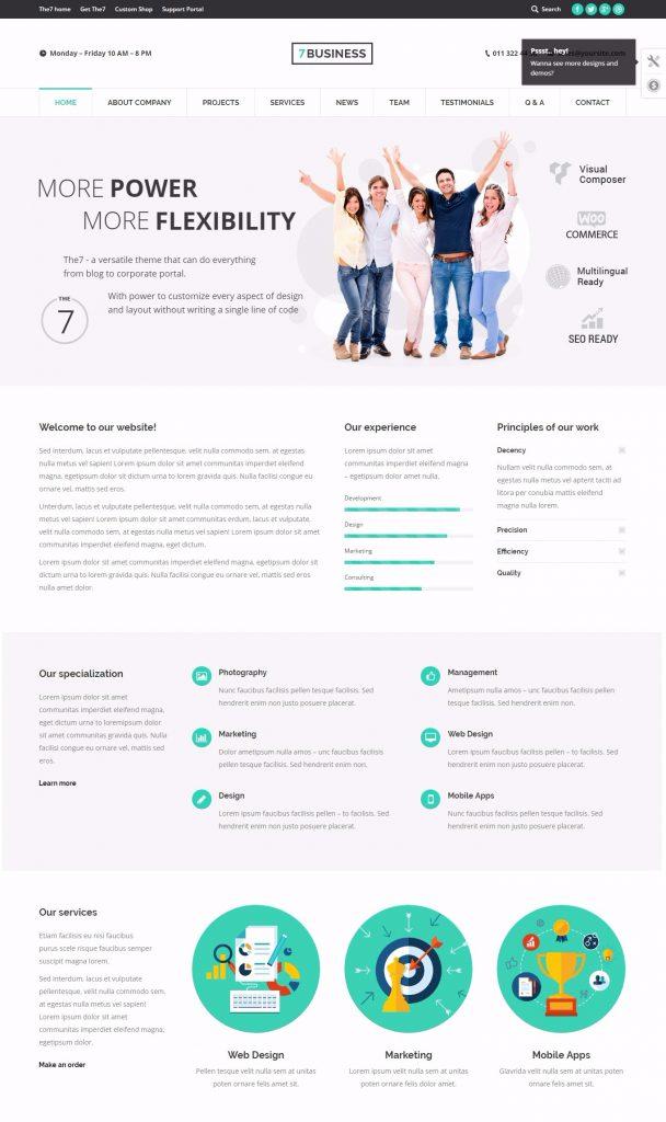 mau-website-gioi-thieu-cong-ty-the7-business