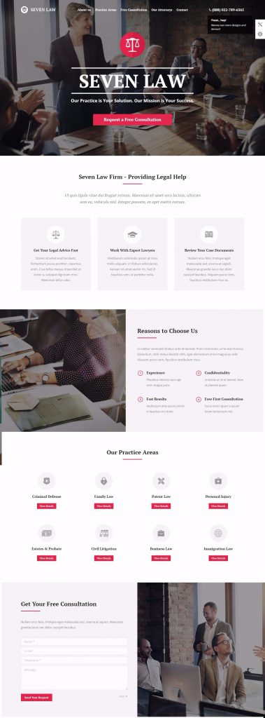 mau-website-luat-the7-law-firm
