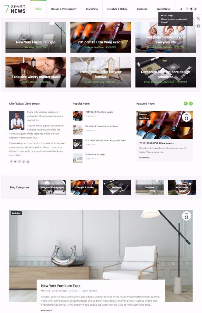 mau-website-tin-tuc-the7-blog-news