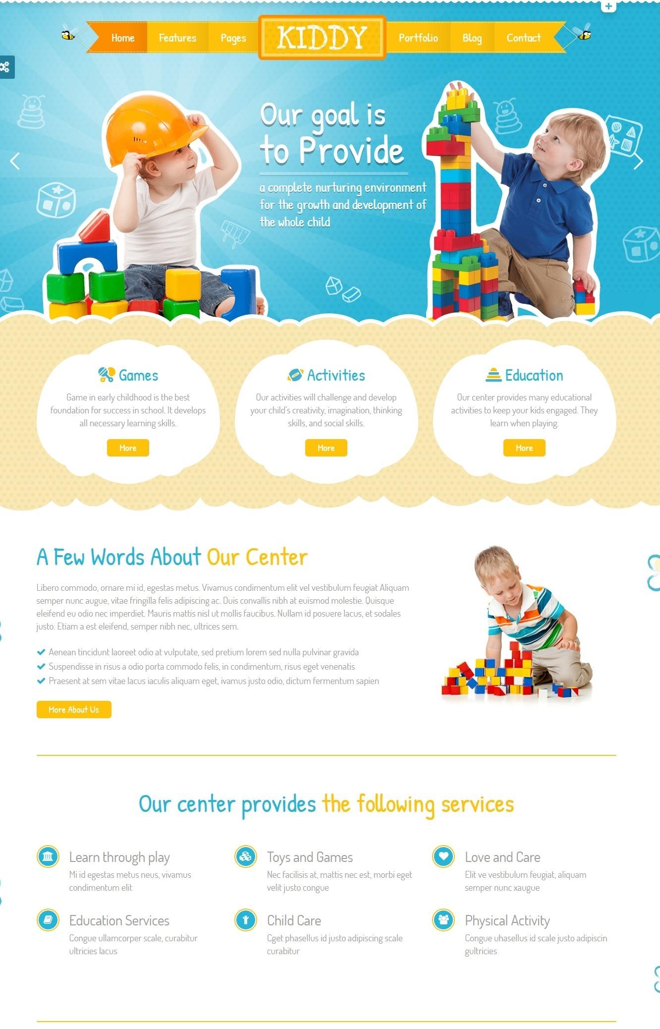 Mẫu giao diện website doanh nghiệp- giáo dục