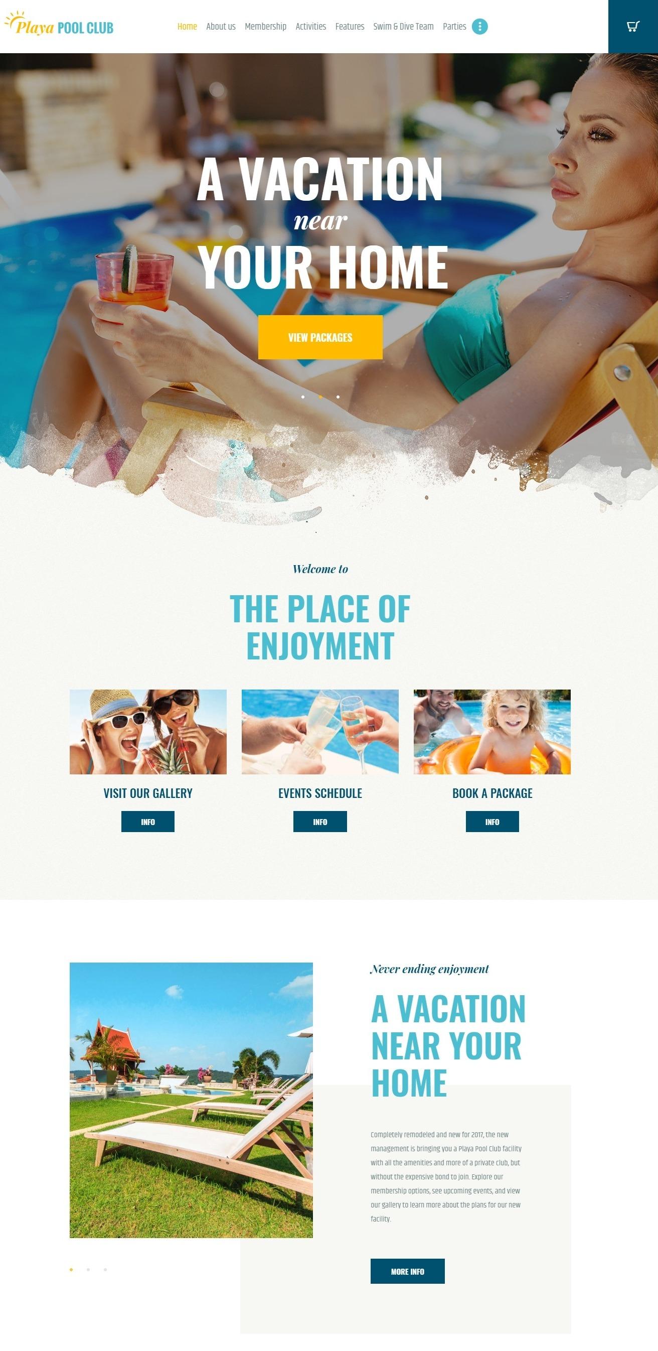 Mẫu giao diện website doanh nghiệp - giải trí