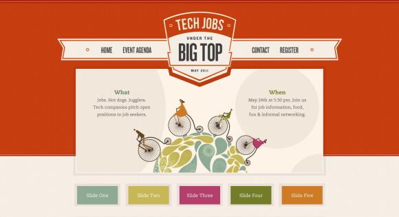 bảng màu cho website