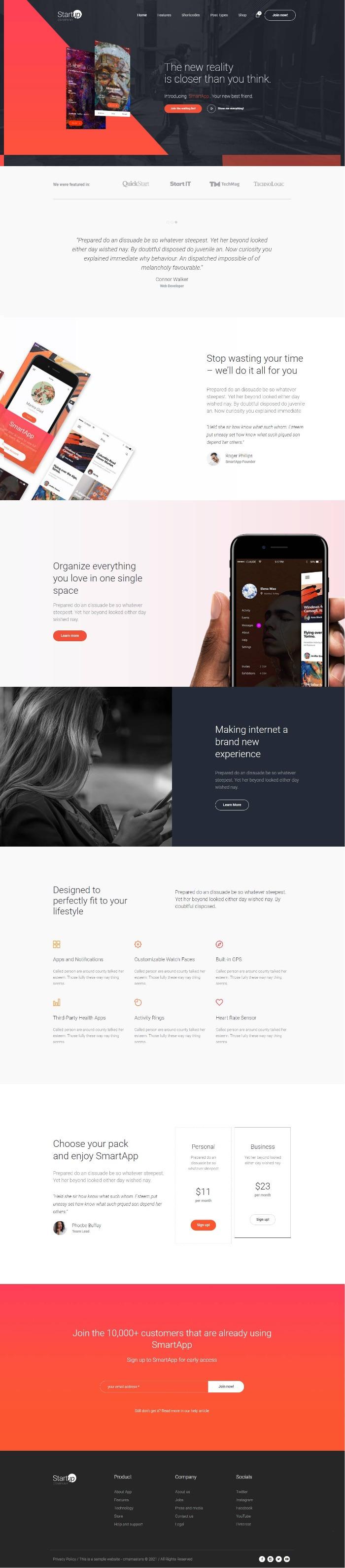 mau-website-gioi-thieu-cong-ty-startup